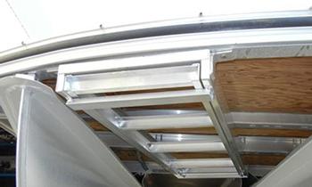 Jif CSD 'Crone' Under Deck Pontoon Boat Ladder