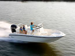 Boston Whaler boat in action on the water