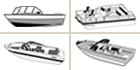 Find boat covers by boat type icon