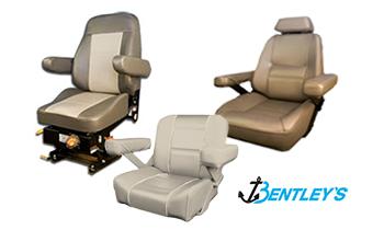Bentley's Helm and Offshore boat seats
