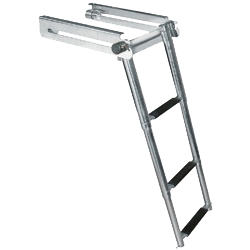 A swim platform ladder product image for boats