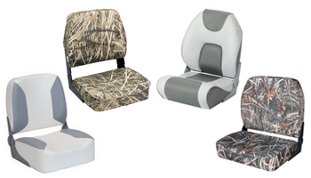 Wise & Garelick folding fishing boat seats