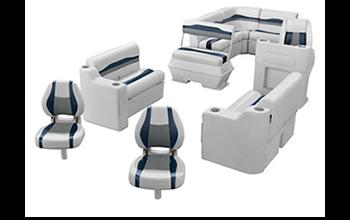 Wise Talon series pontoon boat seat set