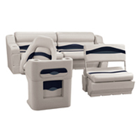pontoon boat seat set