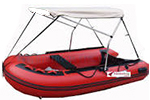 Inflatable Boat Bimini Tops