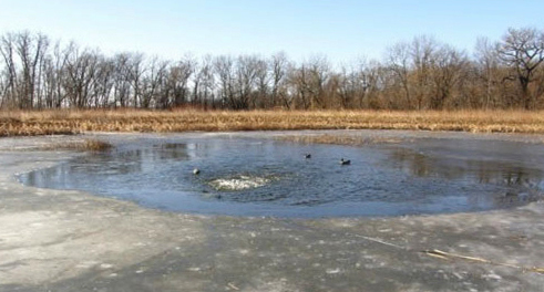 De-icers and ice eaters for duck hunting