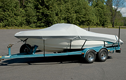 Custom boat covers are made for a specific boat
